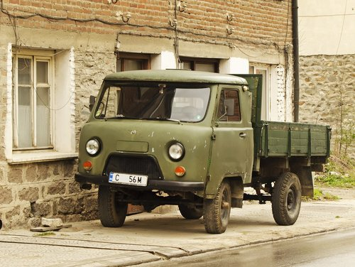 uaz 452  made in ussr  russian