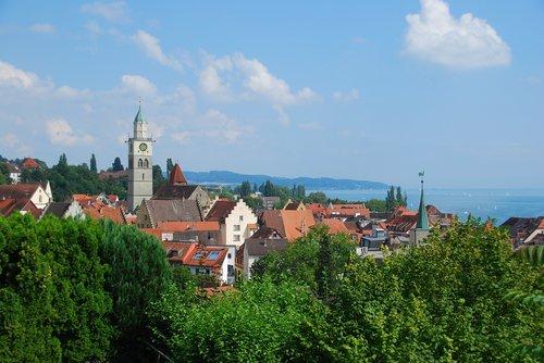 überlingen  lake constance  historic center