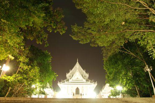 meditacija, ramybė, taika, ramybė, vidinis, ubosata salė naktį