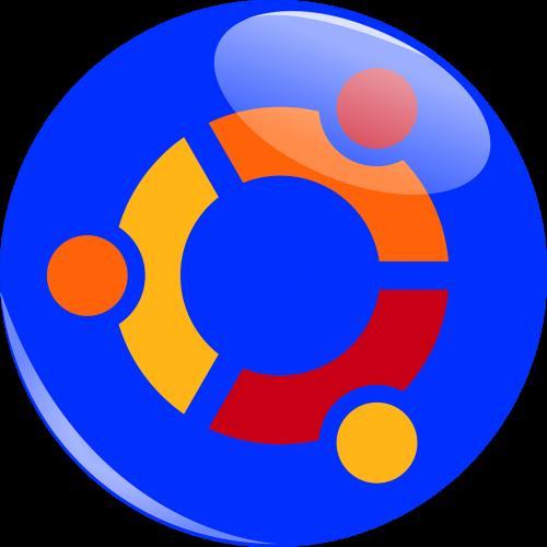 ubuntu logotipas,ubuntu,logotipas,linux,Operacinė sistema,kompiuteris,mėlynas,piešimas
