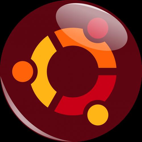 ubuntu logotipas,ubuntu,logotipas,linux,Operacinė sistema,kompiuteris,ruda,piešimas