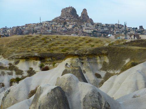 uchisar city tufa