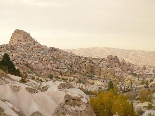 uchisar mountain rock