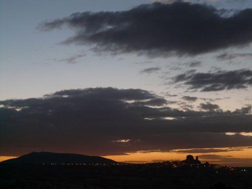 uchisar night evening
