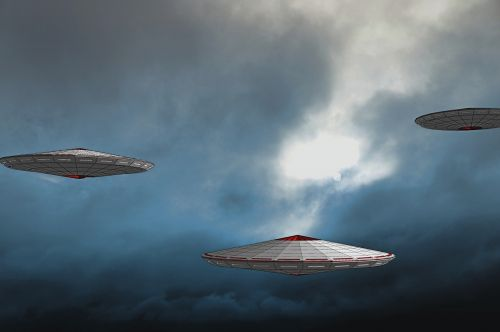 ufo spaceship science fiction