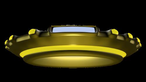 ufo 3d space