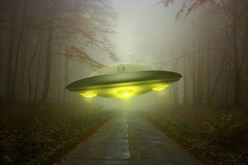 ufo alien 3d