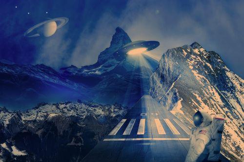 ufo spaceship runway