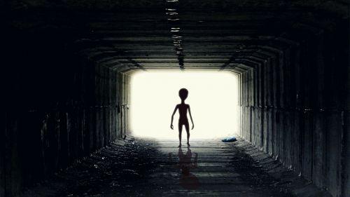 ufo alien guy