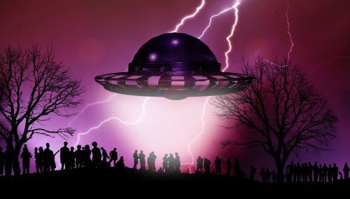 ufo arrival human