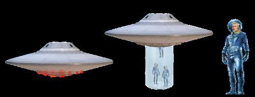 ufo spaceship astronaut