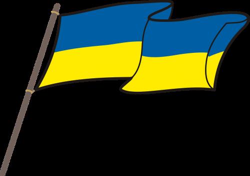 ukraine flag graphics