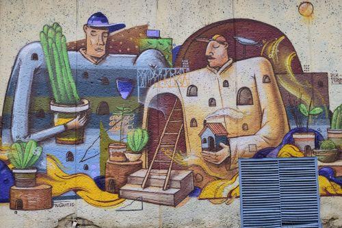 ukraina,grafiti,siena,grafiti,pastatas,gatvė,šiuolaikiška,fasadas,kelionė