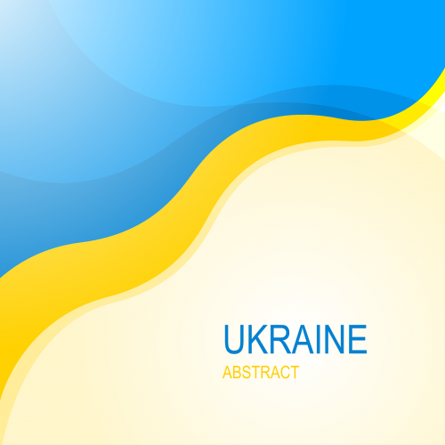 ukraine abstract ukrainian flag