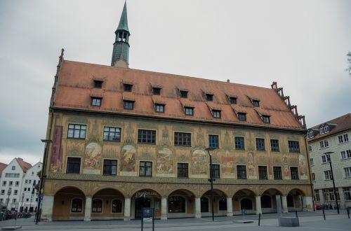 ulm town hall mural