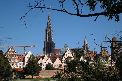 ulm city city view