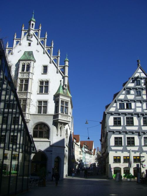 ulm old town fachwerkhaus