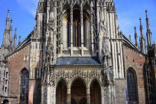 ulm cathedral münster portal