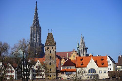 ulm cathedral metzgerturm ulm