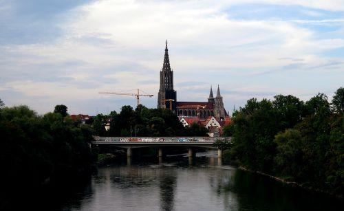 ulm cathedral ulm danube