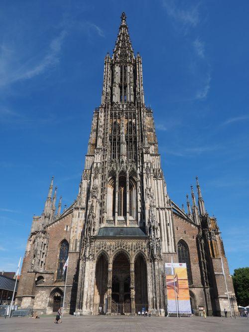 ulm cathedral muesterplatz münster