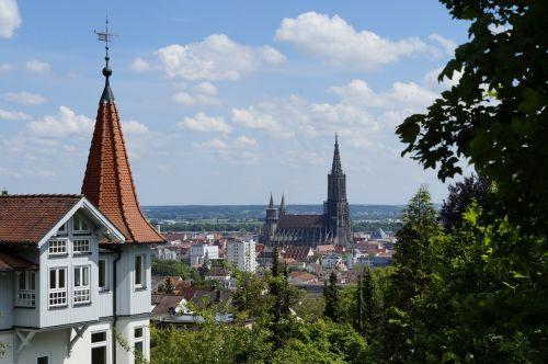 ulm cathedral ulm view