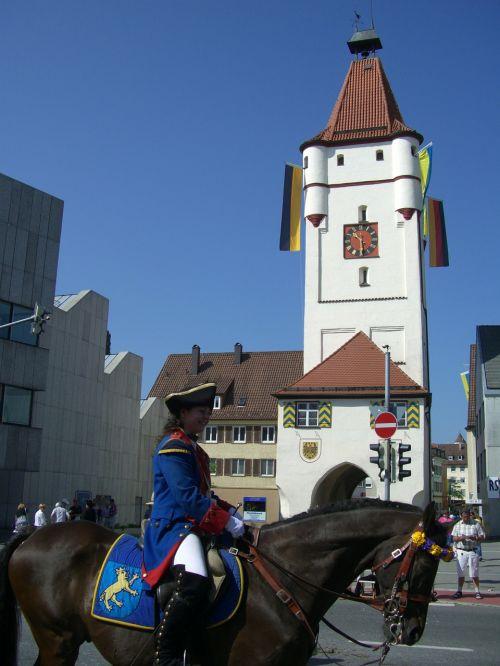 ulmer gate city gate biberach