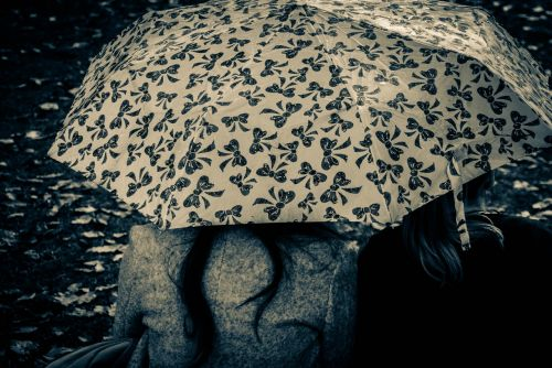 umbrella together friendship