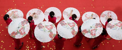 umbrella jiangnan dance