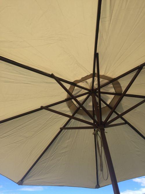 umbrella underside summer