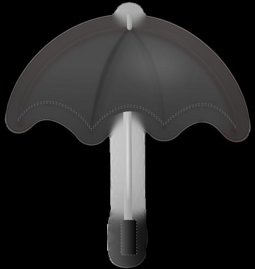 umbrella black monsoon