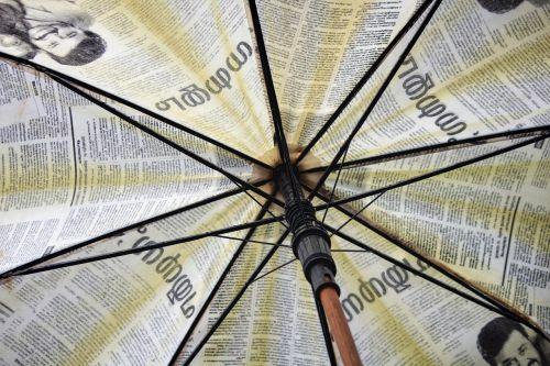 umbrella umbrella inner abstract