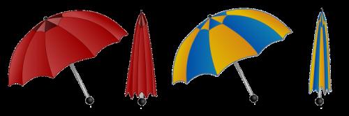 umbrella colorful rain