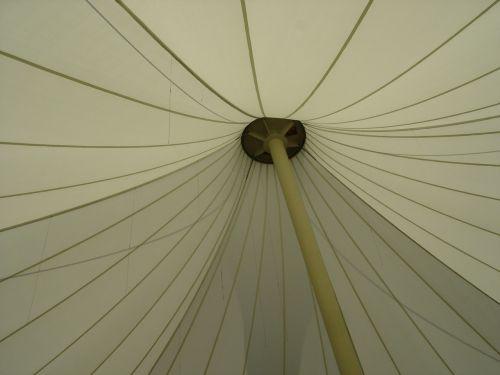 umbrella sunshade white