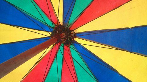 umbrella color colorful