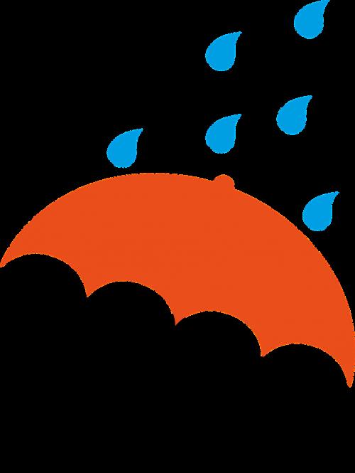 umbrella orange drops