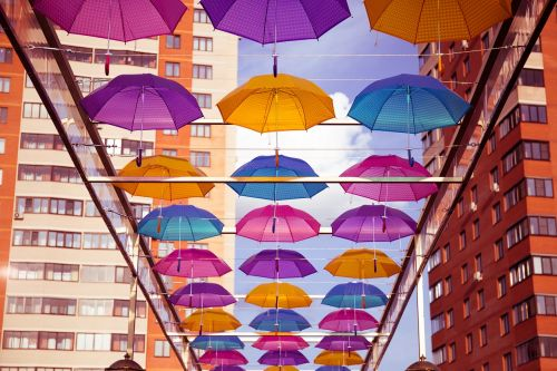 umbrellas chekhov bridge