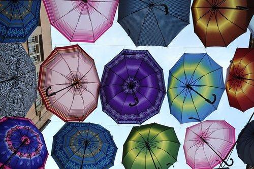 umbrellas  summer  pleasure