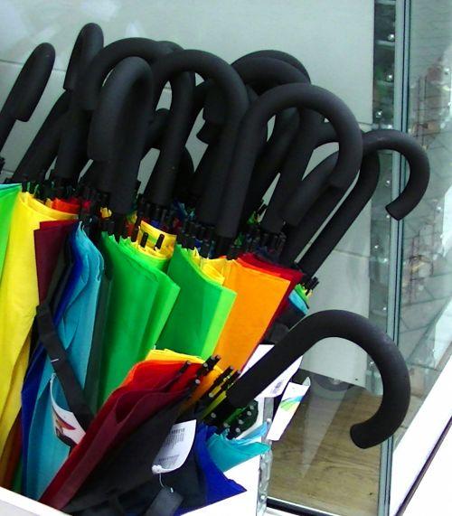 Umbrellas In A Box