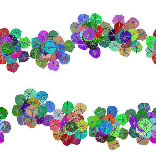 Umbrellas Of Flowers