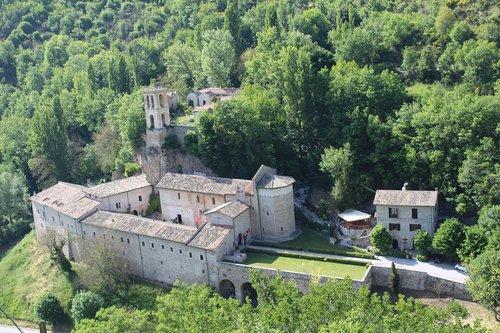 umbria  abbey  sant ' eutizio