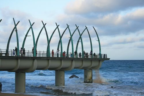 umhlanga rocks pier pier structure