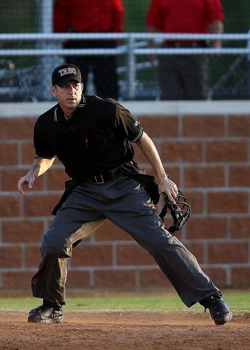 umpire baseball game