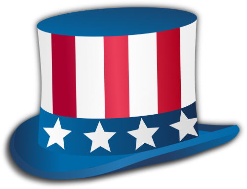 uncle sam hat stars