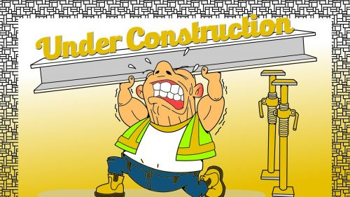 under construction coming soon site