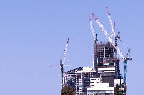 under construction  building  cranes