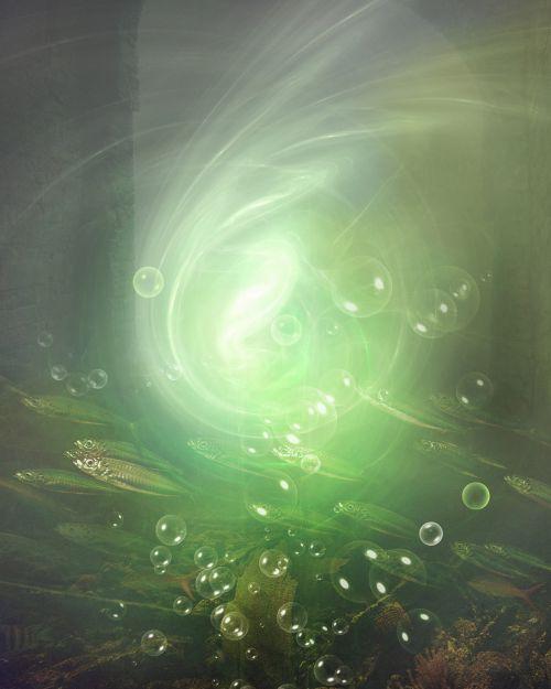 vanduo, povandeninis, fantazija, šviesa, upė, jūra, burbulas, bangos, žuvis, pagal vandens fantaziją 5