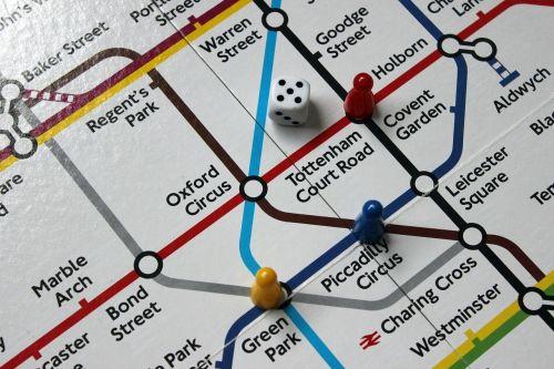 underground tube map stations