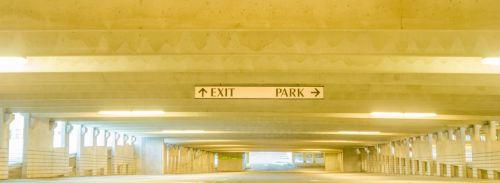 Underneath Parking Deck
