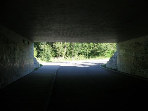 underpass tunnel subway